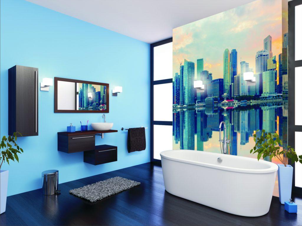 Łazienka z widokiem na morze